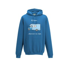 Motorhome Sketch Hoodie - At home wherever we roam