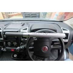 Milenco High Security Steering Wheel Lock (Silver)