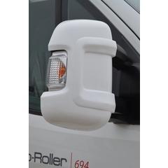 Milenco Motorhome Mirror Protectors White (Wide Arm)