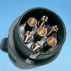 Pre packed black ^^^n^^^ plug
