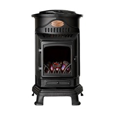 Provence Gas Heater - Matt black