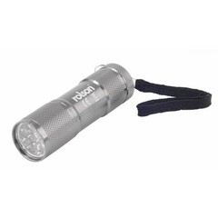 Rolson 9 LED Aluminium Torch
