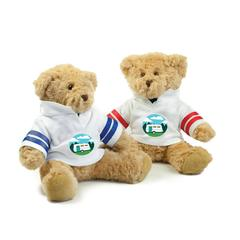 Teddy Bear in Rugby Shirt