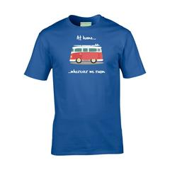 Camper TShirt - At home wherever we roam