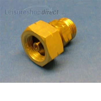 Dutch/German gas bottle adaptor