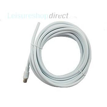 Vision Plus Coaxial Cable with F Connectors 5 Metre