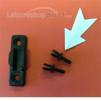 Expanding rivet for latch 242106