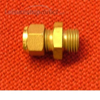 """Coupling 5/16"""" copper to 1/4"""" BSP male parallel"""