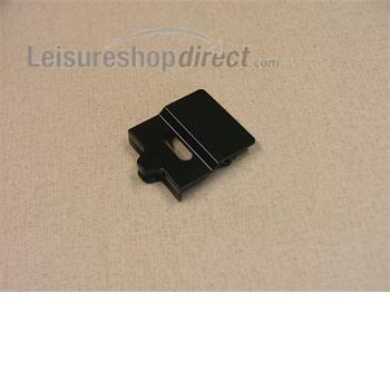 Dometic Slider,Door Lock,Bent, Black-Grey
