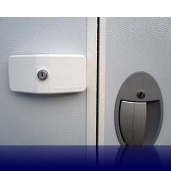 Milenco Door Lock for Touring Caravans - Triple Pack