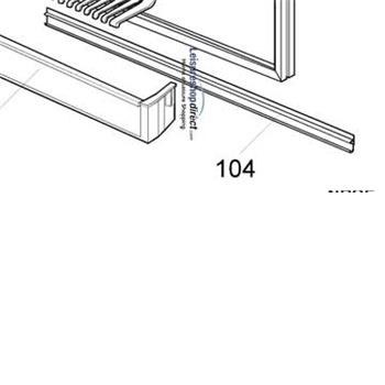 Dometic RGE100 Door Frame Strip