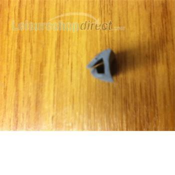 Awning rail rubber - Grey