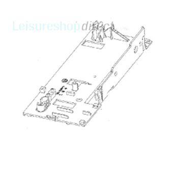 Dometic Plastic Instrument Retainer