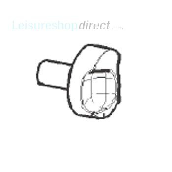 Dometic Turning Knob,Gas Thermostat