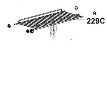 Dometic Top Fridge Shelf
