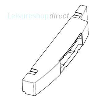 Dometic Control Panel for Left Doorhang - Grey
