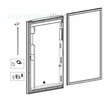 Dometic Door Complete