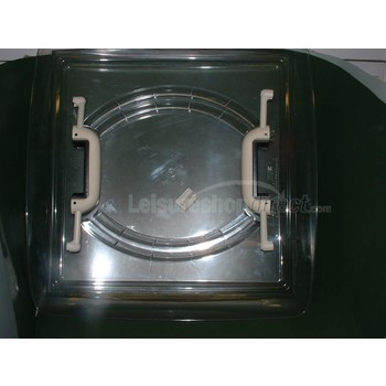 Clear Dome and Handles for MPK 400 rooflight