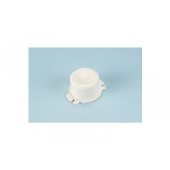 Push Button for Thetford Service Doors 3,4,5+6 - Cream