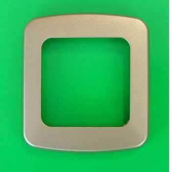 CBE 1 Way Nickel Flatline Decorative Frame