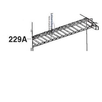 Dometic RM 4230 Lower Shelf