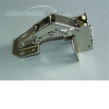 Caravan locker door hinge
