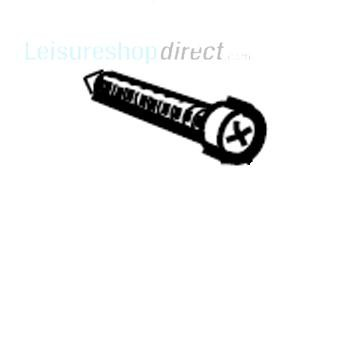 Dometic Screw,Zinc-Plated,M4x25
