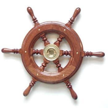 Vetus Mahogany Steering Wheel Type KC52