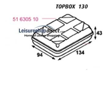 Omnistor Top Box 130 Cover