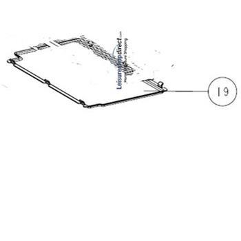 Thetford N145 Fridge Shelf Tray Insert