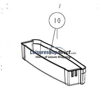 Thetford N150 + N175/ N3150 Shallow Door Bin