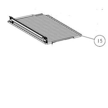 Thetford Bottom Shelf only (no clips or bracket) for Thetford N150/N180 Fridge