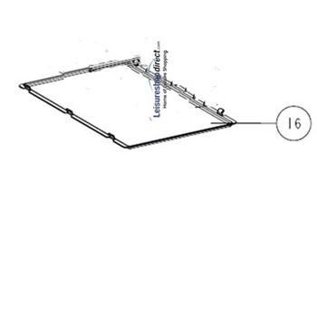 Shelf Tray Insert thetford N150/N180 Fridges