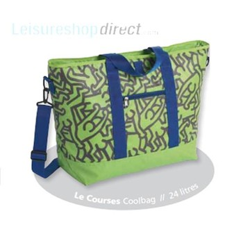 Le Courses Coolbag Pop Art Green