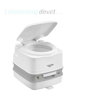 Thetford Porta Potti Qube 335 with Hold Down Kit