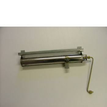 Burner c/w gas feed tube and jet for Widney Fire