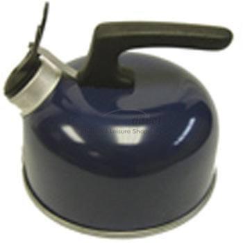Flip Top Whistling Kettle - Blue 1.75pt/1lt