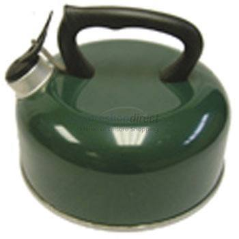 2.1lt Whistling Kettle - Green