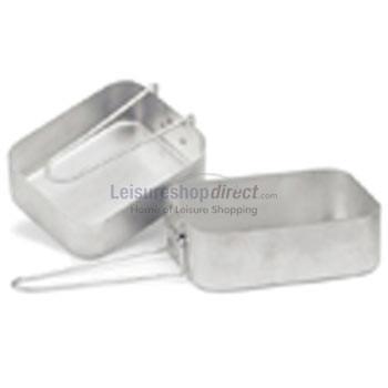 Aluminium Mess Tins x 2