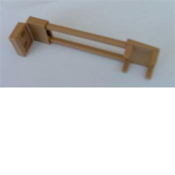 Sink flap retainer, brown