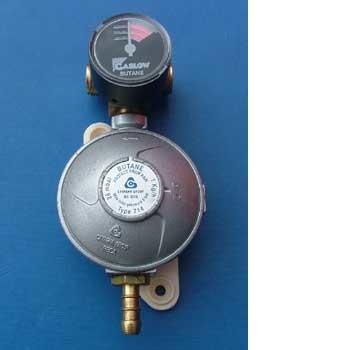 Gaslow Manual changeover gauge for butane