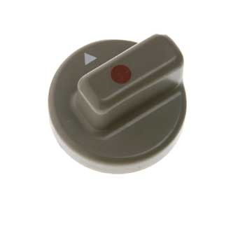 Knob for flame failure device for refridgerators