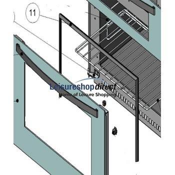 Thetford/Spinflo - Oven Door Seal