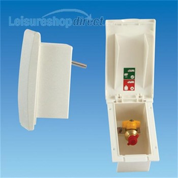 Gas Outlet Box- White (TND)