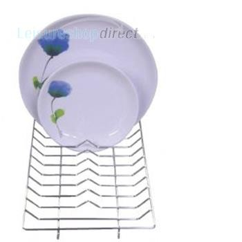 Wire Mini Dish Drainer Chrome 30cm x 20cm