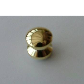 Mini push button, gold