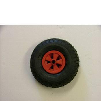 Jockey wheel spare wheel pneumatic