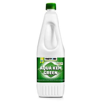 Thetford Aquakem Green Toilet Chemical Fluid 1.5 Litre