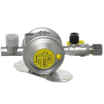 Truma gas regulator, 30 mbar, 10mm outlet