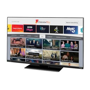 "Avtex 249DSFVP 24"" Wi-Fi Connected HD TV with Freeview Play (12V/240V)"